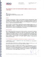 2016 – Balanço R. Auditor Independente