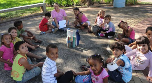 Grande Roda -  Projeto Ser Criança